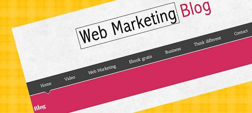 Web Marketing Blog