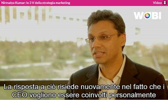 3 V della strategia marketing