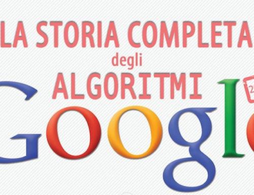 Algoritmi di Google: ecco la storia completa [Infografica]